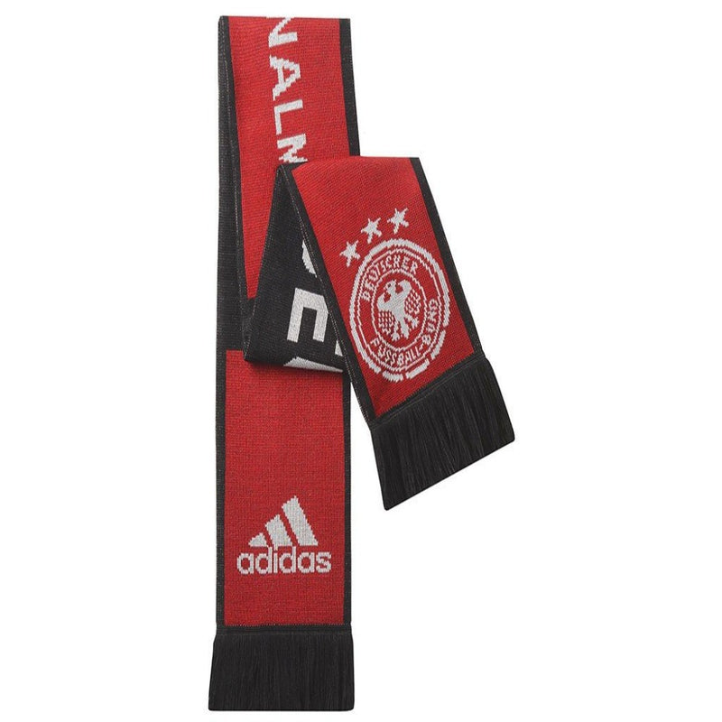 Germany Away Scarf - Black/Victory Red/Matte Silver