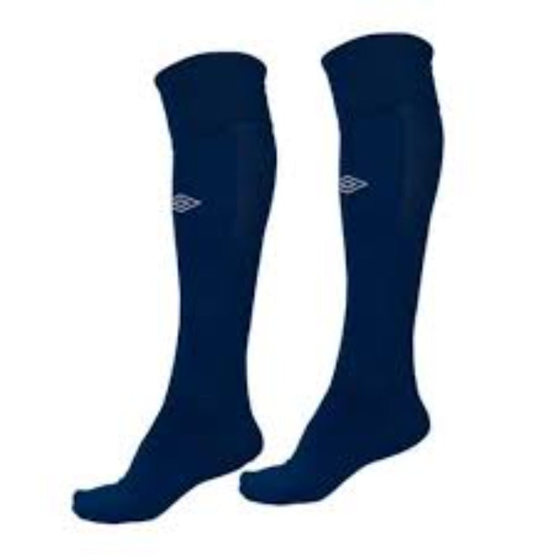 Player Sock - Navy/White