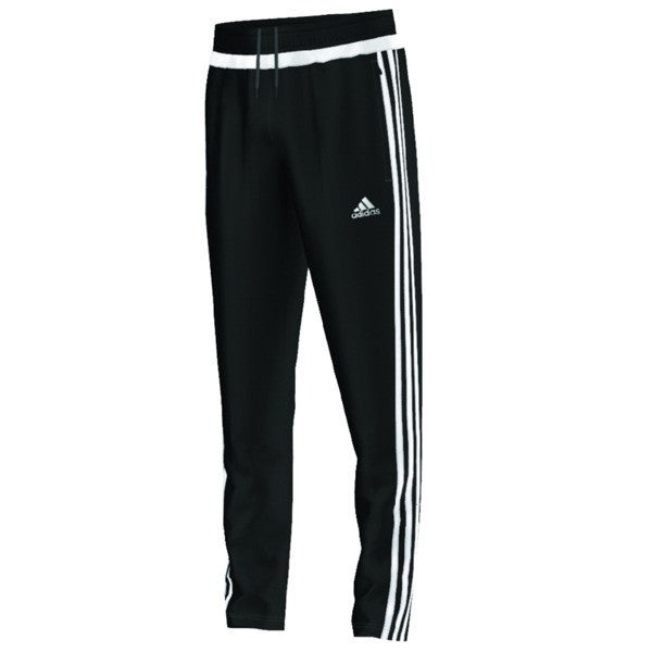 Tiro 15 Training Pants - Black/White