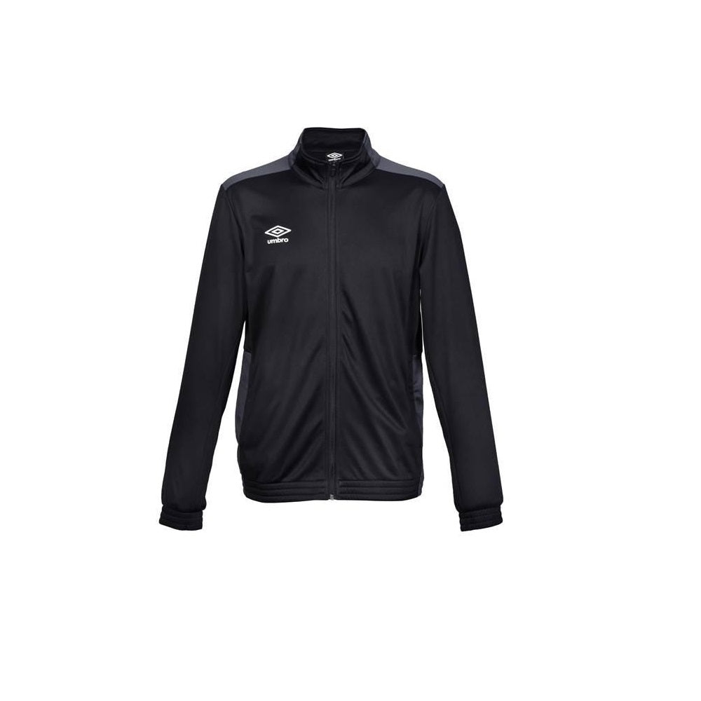 Mark Knit Training Jacket - Black/Carbon