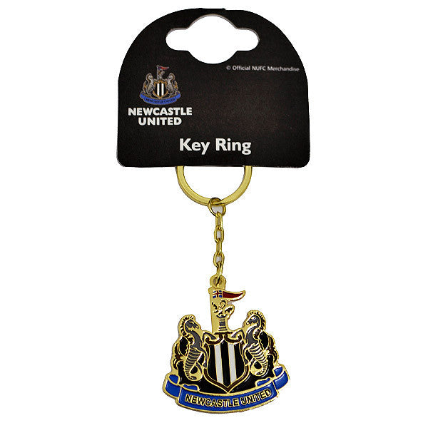 Newcastle United FC Club Crest Keychain - Licensed