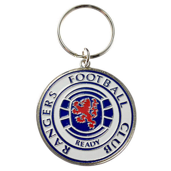 Rangers Club Crest Keychain - Licensed