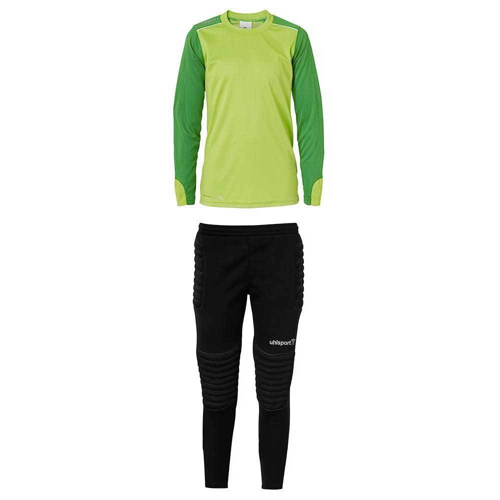 Tower Junior Goalkeeper Set - Green/White