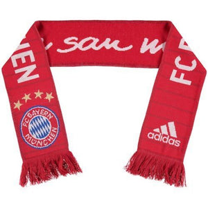 FC Bayern Munich Home Scarf - FCB True Red/White