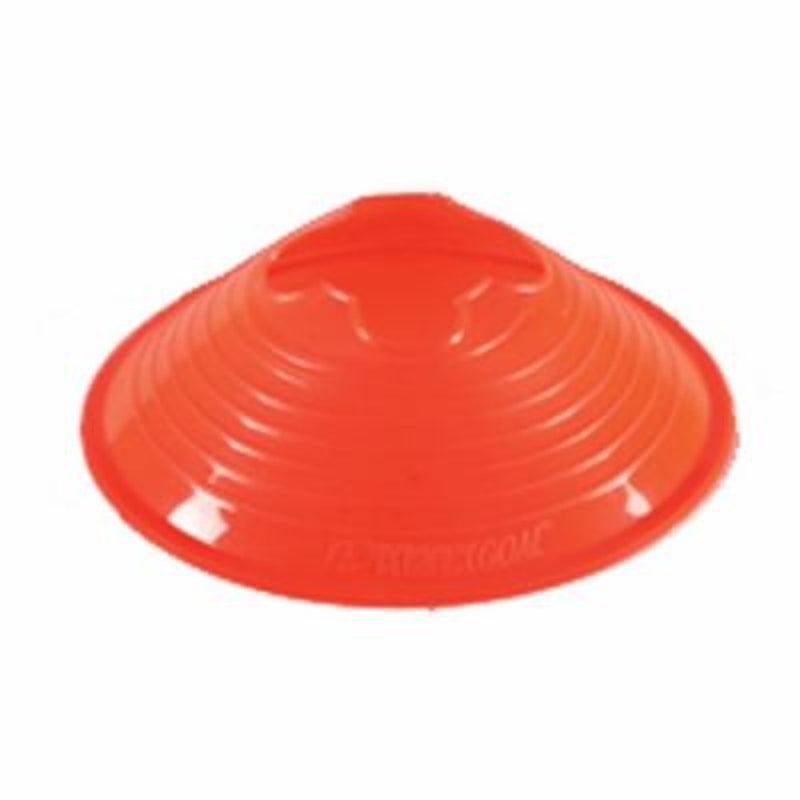 Small Disc Cone with Cradle - Orange