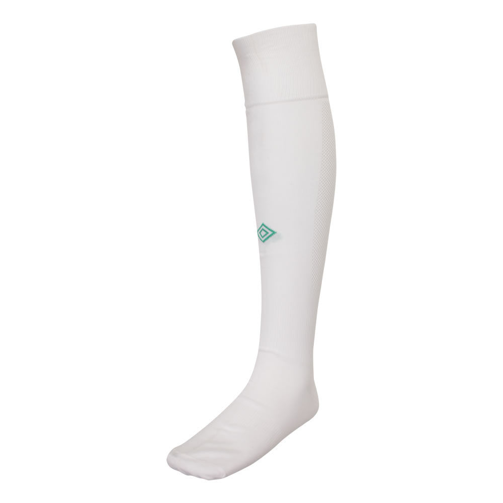Player Sock - White/Emerald