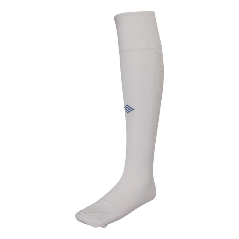 Player Sock - White/Royal
