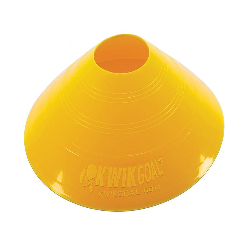 Small Disc Cones - Yellow