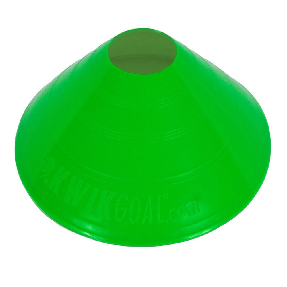 Small Disc Cones - Green
