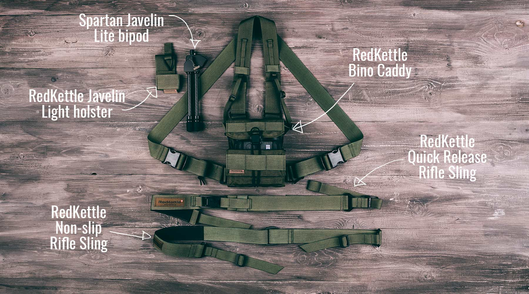 Win RedKettle and Spartan Precision hunting gear
