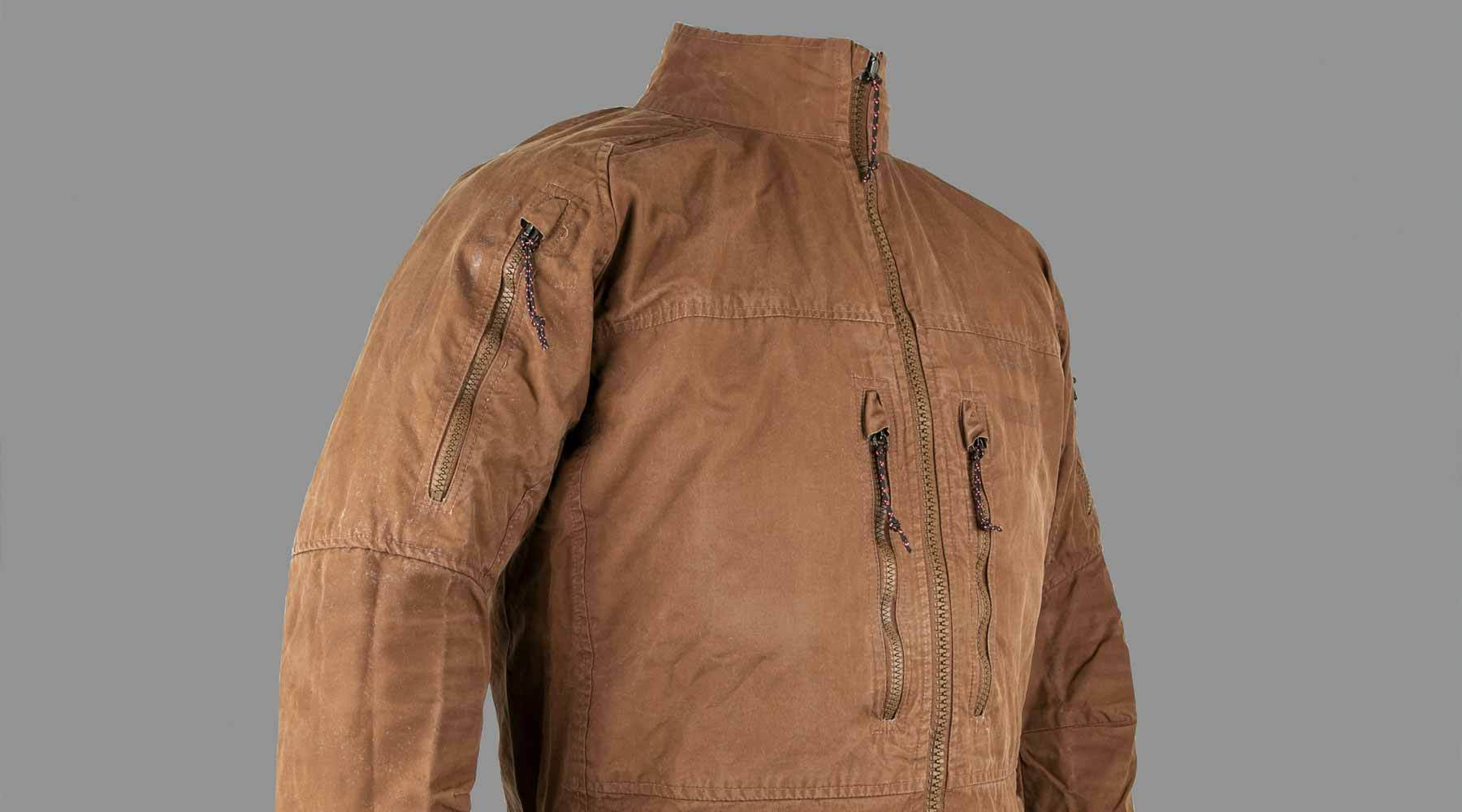 image of ventile windshell prototype jacket