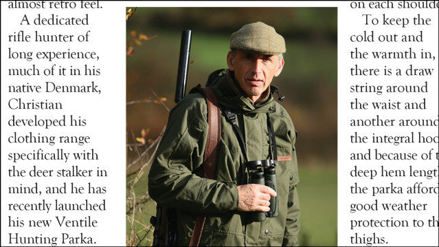 Image of RedKettle Hunting Parka M16 review in Deer magazine
