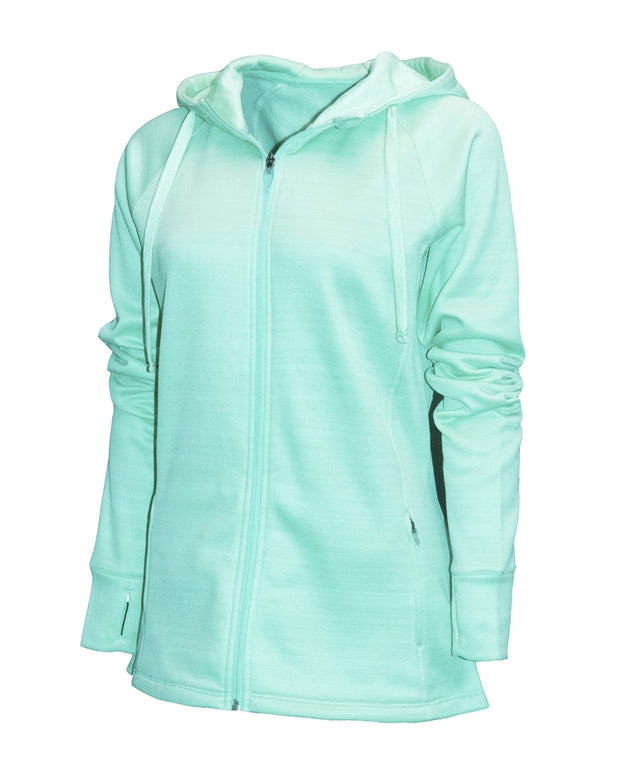 Ladies Scuba Full-Zip Jacket - Southland Graphics