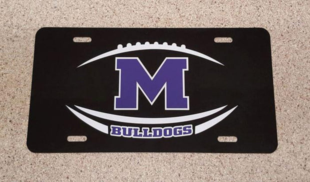 Bulldog Licenses Plates - Southland Graphics