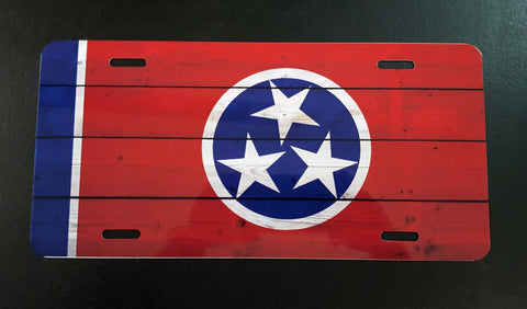 Flag Licenses Plates - Southland Graphics