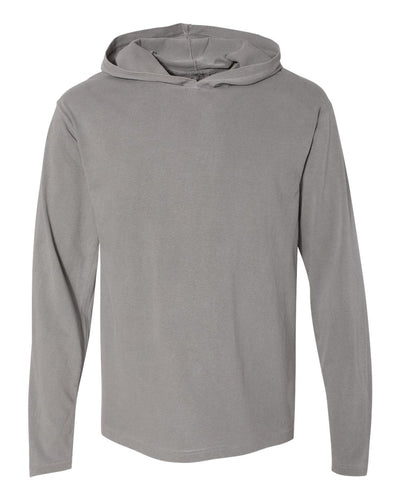 Garment Dyed Hooded Long Sleeve Tee - Southland Graphics