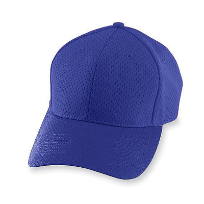 Youth Athletic Mesh Cap with M Design