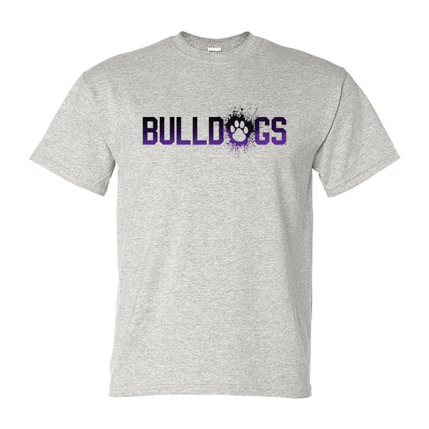 Bulldogs Splatter - Youth Short Sleeve