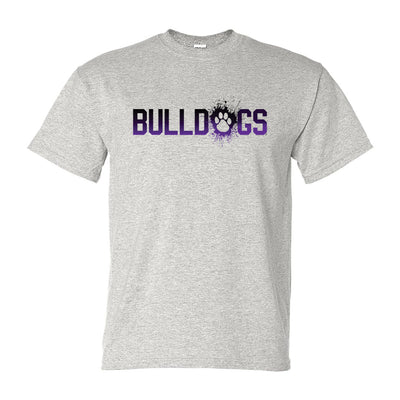 Bulldogs Splatter - Adult Short Sleeve