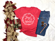 Joy to the World - Short Sleeve