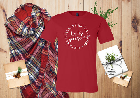 Hallmark Christmas Shirt Bella Canvas - Southland Graphics