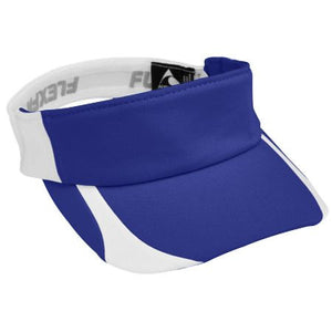 Adult Flexfit Contender Visor with M Design - Southland Graphics