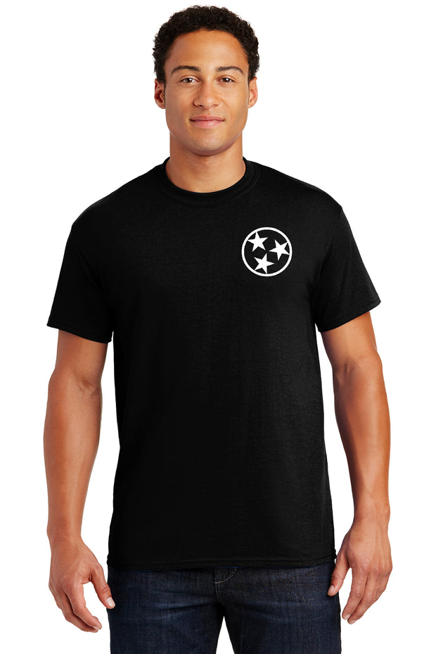 Adult Bulldog Nation Tri-Star Spirit Shirt