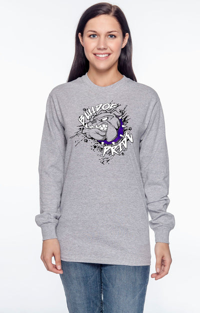 Adult Bulldog Pride Spirit Shirt (Long Sleeve)