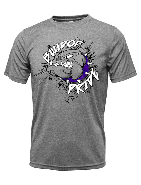 Adult Bulldog Pride Moisture Wicking Spirit Shirt