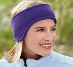 STRETCH FLEECE EAR WARMERS