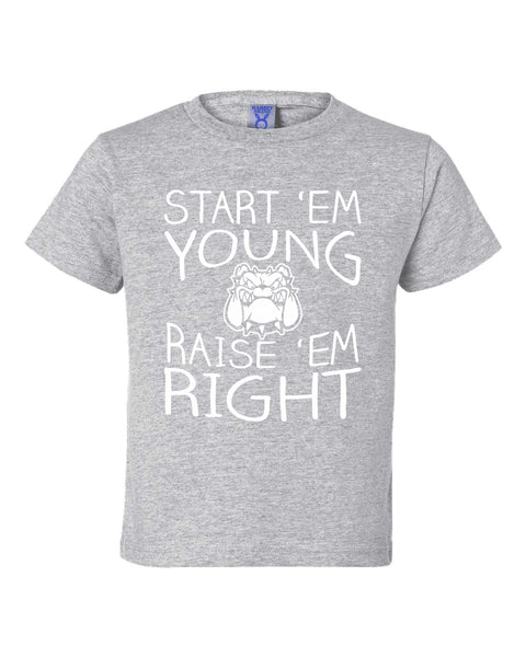 START EM' YOUNG RAISE 'EM RIGHT Infant & Toddler Tee