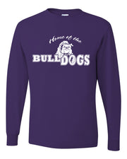 Adult Home of the Bulldogs - Long Sleeve