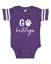 Go Bulldogs - Game Day Onesie