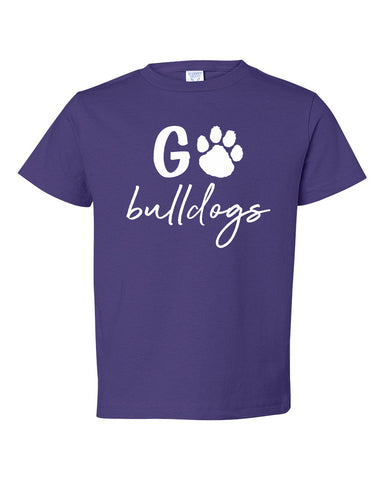 Go Bulldogs Infant & Toddler Tee