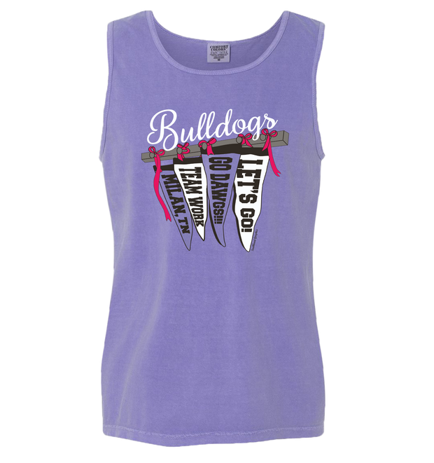 Ladies Pennant Flag Spirit Tanks - Southland Graphics