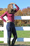 Buckwild Curvy High-Waist Breech