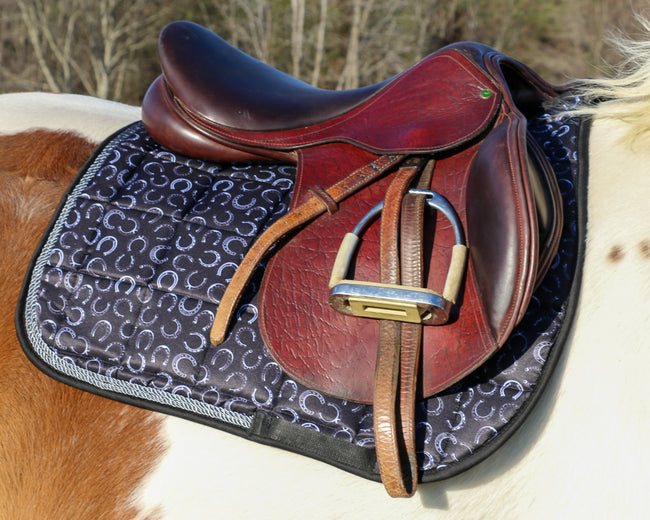 Saddle Pad - All Purpose Horse Shoes