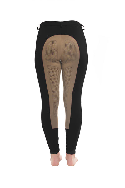Signature Mid-Waist Winter Breech | Black + Tan