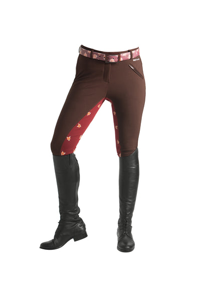 Signature Mid-Waist Breech | Mocha + Fox