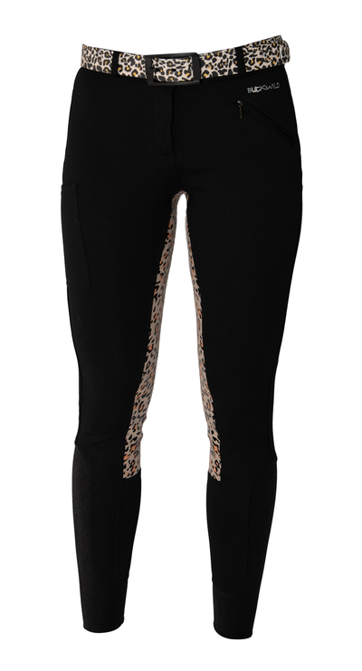 Buckwild Breeches Leopard with Hip Pocket