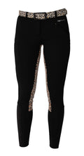 Buckwild Curvy High-Waist Breech Leopard