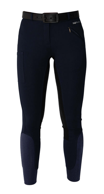 Buckwild Breeches Navy with Hip Pocket