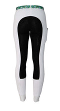 Buckwild Curvy High-Waist White Show Breeches