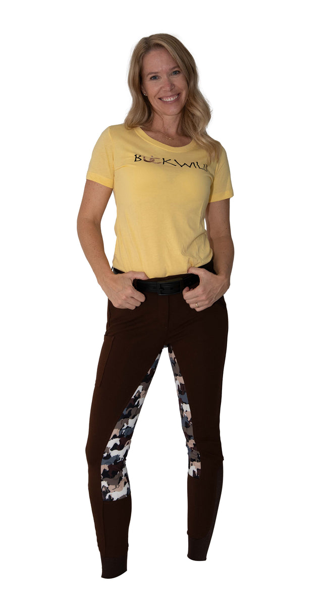 Buckwild Breeches Camo with Hip Pocket