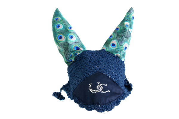 Ear Bonnet - Peacock