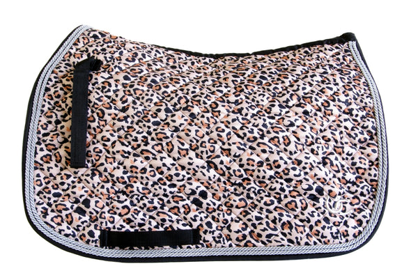 Saddle Pad - All Purpose Leopard