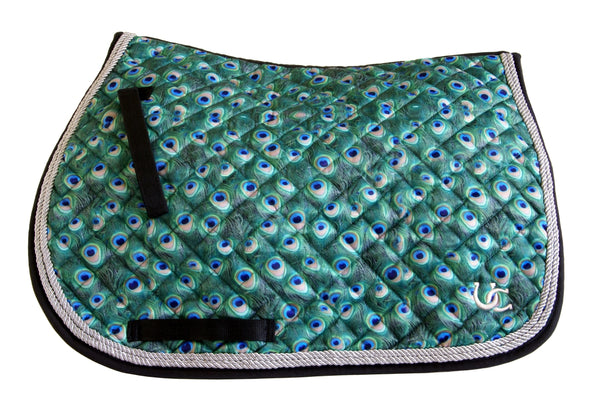 Saddle Pad - Dressage Peacock
