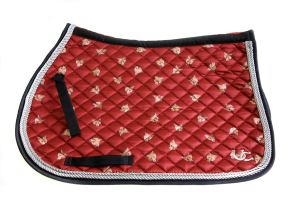 Saddle Pad - All Purpose Fox