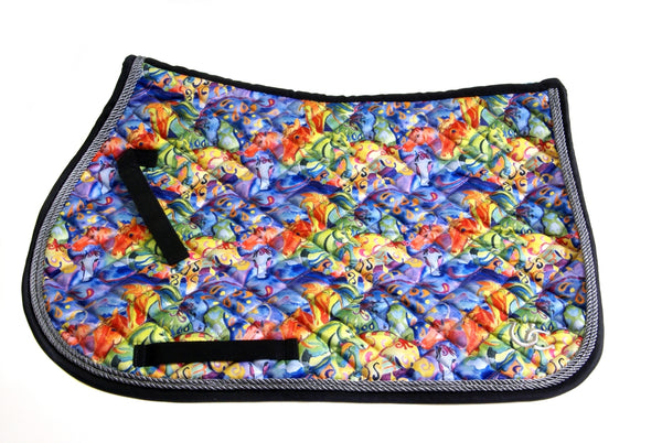 Saddle Pad - All Purpose Painted Ponies