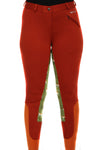 Curvy Mare | High-Waist Breech | Rust + Hounds